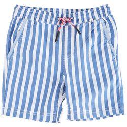 Reverse Threads Little Boys Streetcar Stripe Shorts