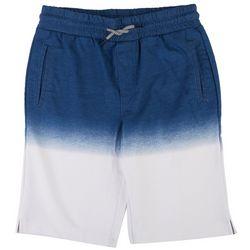 Ocean Current Little Boys Harris Dip Dye Shorts