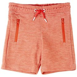 Ocean Current Little Boys Heathered Knit Shorts