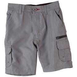 Little Boys Zipper Traveler Cargo Shorts