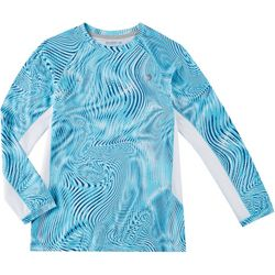 Little Boys Keep It Cool Optic Swirl T-Shirt