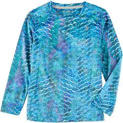 Reel Legends Little Boys Reel-Tec Scales Long Sleeve T-Shirt