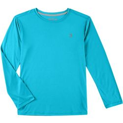 Reel Legends Big Boys Reel-Tec Long Sleeve T-Shirt