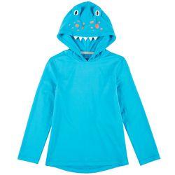 Reel Legends Little Boys Reel-Tec Sea Monster Hooded T-Shirt