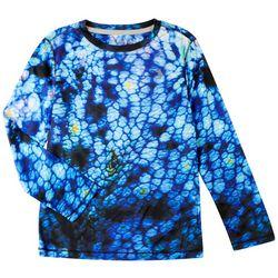 Reel Legends Little Boys Reel-Tec Salt Springs T-Shirt
