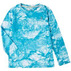Reel Legends Little Boys Reel-Tec Morning Frost T-Shirt