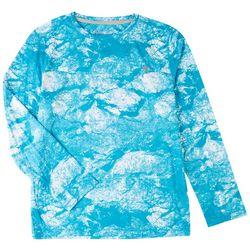 Reel Legends Big Boys Reel-Tec Morning Frost T-Shirt