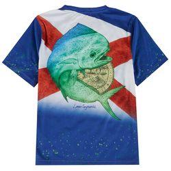 Reel Legends Big Boys Florida Mahi Mahi T-Shirt