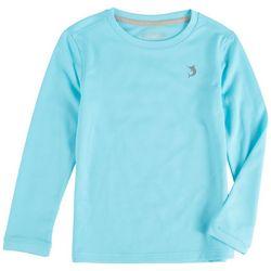 Reel Legends Little Boys Freeline Pointelle T-Shirt