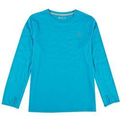 Reel Legends Big Boys Keep It Cool Long Sleeve T-Shirt