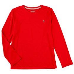 Reel Legends Big Boys Freeline Pointelle Long Sleeve T-Shirt