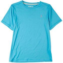 Reel Legends Big Boys Keep It Cool Short Sleeve T-Shirt