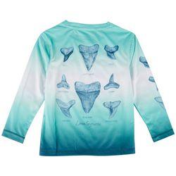 Reel Legends Little Boys Lea Szymanski Shark Tooth T-Shirt