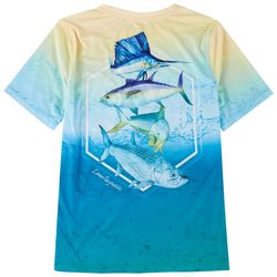 Reel Legends Big Boys Lea Szymanski Slam Mahi T-Shirt