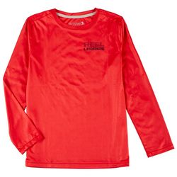 Big Boys Long Sleeve Reel-Tec Jaws Tee