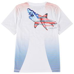 Reel Legends Big Boys Patriotic Great Bite T-shirt
