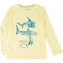 Big Boys Reel-Tec Shark T-Shirt