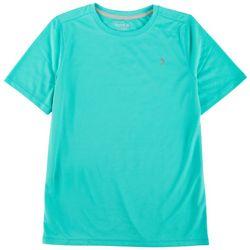 Reel Legends Big Boys Freeline Pointelle Solid T-Shirt