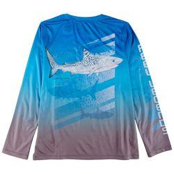 Reel Legends Little Boys Lea Szymanski Tiger Shark T-Shirt