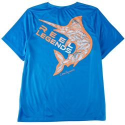 Reel Legends Big Boys Lea Szymanski Mahi Graphic T-Shirt