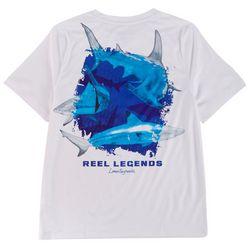 Reel Legends Little Boys Lea Szymanski Shark Trio T-Shirt