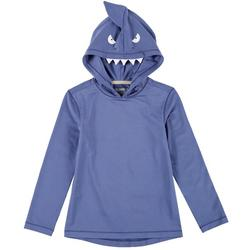 Little Boys Reel-Tec Shark Hooded T-Shirt