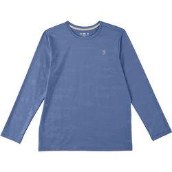 Reel Legends Big Boys Keep It Cool Fish Deboss T-Shirt