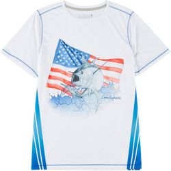 Big Boys Reel-Tec Yellowfin God Bless T-Shirt