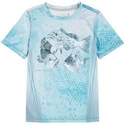 Reel Legends Big Boys Reel-Tec Reef Rubble T-Shirt
