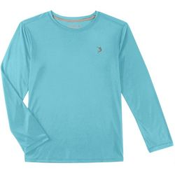 Reel Legends Big Boys Reel-Tec Solid Long Sleeve