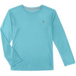 Big Boys Reel-Tec Solid Long Sleeve T-Shirt