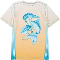 Reel Legends Big Boys Reel-Tec Off Shore Slam T-Shirt