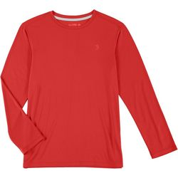 Little Boys Reel-Tec Solid Long Sleeve T-Shirt
