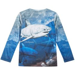 Big Boys Long Sleeve Great Bite T-shirt