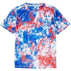 Reel Legends Big Boys Reel-Tec Splat T-Shirt