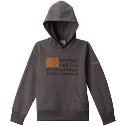 Columbia Big Boys PFG Graphic Flag Hoodie