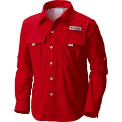 Columbia Big Boys PFG Bahama Button Up Shirt