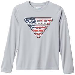 Big Boys PFG Terminal Tackle Flag Triangle T-Shirt
