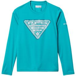 Big Boys PFG Terminal Tackle Triangle Water T-Shirt