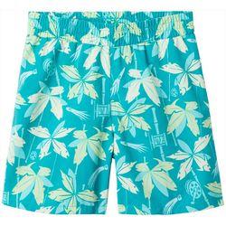 Columbia Big Boys PFG Leaf Backcast Shorts