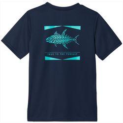 Big Boys Short Sleeve Solid PFG Offshore T-Shirt