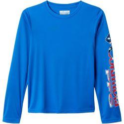 Columbia Big Boys Patriotic PFG Terminal Tackle T-Shirt