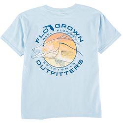 FloGrown Big Boys Snook Sketch T-Shirt