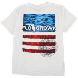 FloGrown Big Boys Americana School Fish T-Shirt