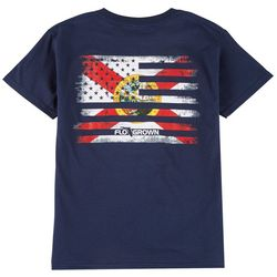 FloGrown Big Boys Flag Mash Up T-shirt