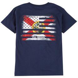 FloGrown Big Boys Flag Mash Up T-shirt
