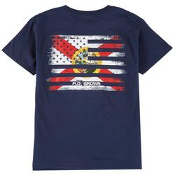 Big Boys Flag Mash Up T-shirt