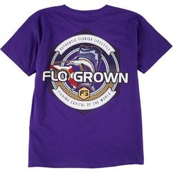 FloGrown Big Boys Fishing Capital T-Shirt