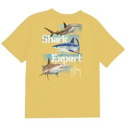Guy Harvey Big Boys Shark Expert T-Shirt