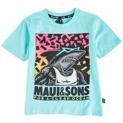 Little Boys Clean Ocean T-Shirt